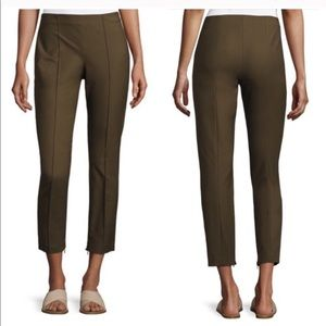 Theory // Alettah Approach 2 Olive Cropped Pants